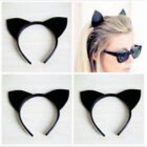 Sexy Black Cat Ears Headband